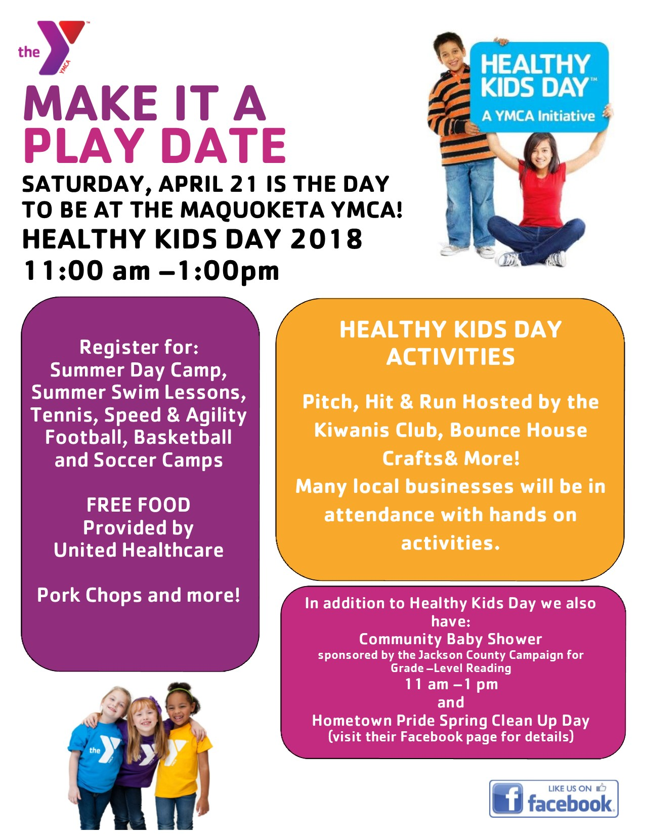 HEALTHY KIDS DAY 2018 FLYER