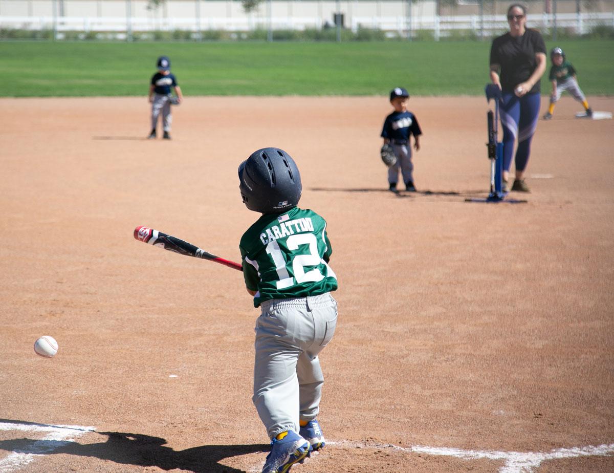 T-ball and Machine Pitch Baseball - Scott County YMCA
